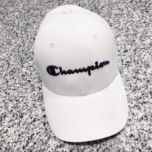 Champion White Cap